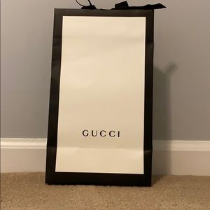 Authentic Gucci gift wrapping bag